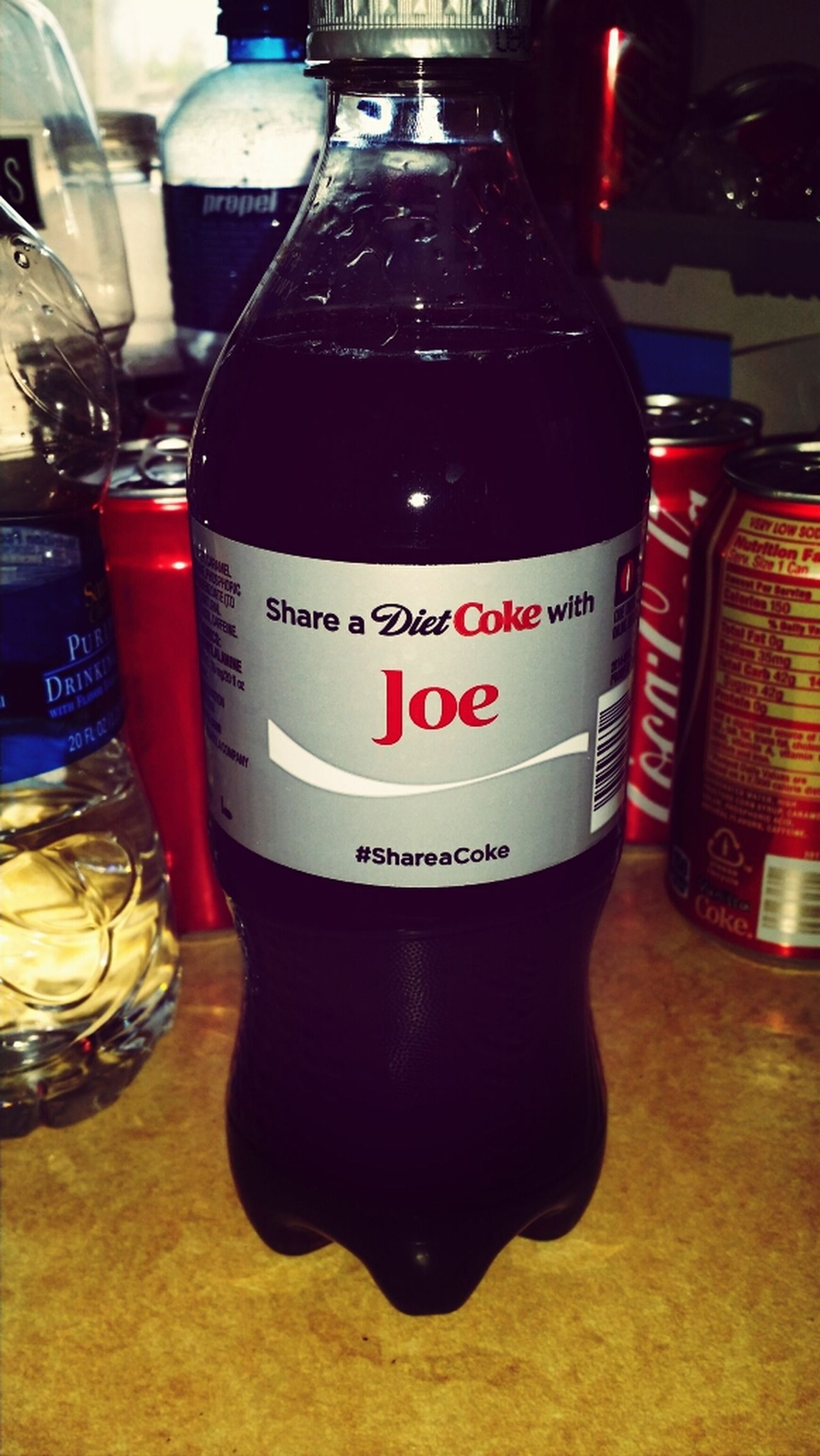 Joe's GALAXYS3 Coke Bottles With Your Name