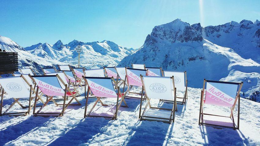 Relaxing Relaxation Relaxing Time Enjoying The Sun Enjoying The View Mountain View Mountains And Sky Mountains Austria Sankt Anton Am Arlberg Sankt Anton