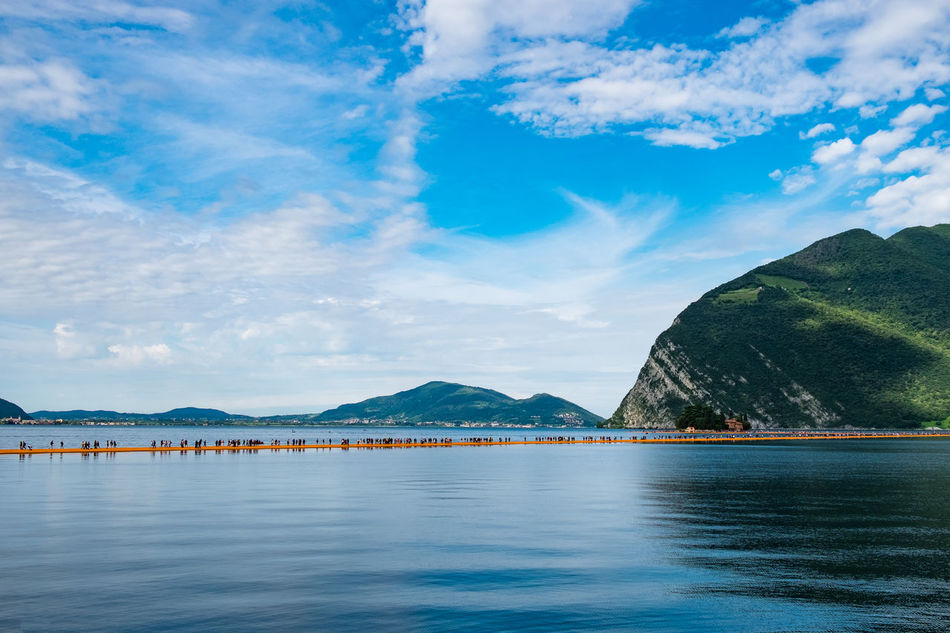 Floating pears Alpinism Beauty In Nature Blue Brescia Cloud - Sky Day Floating Pears Iseo Iseo Lake Landscape Mountain Mountain Range Nature No People Outdoors Reflection Reflections Scenics Sebino Sky Tranquil Scene Water