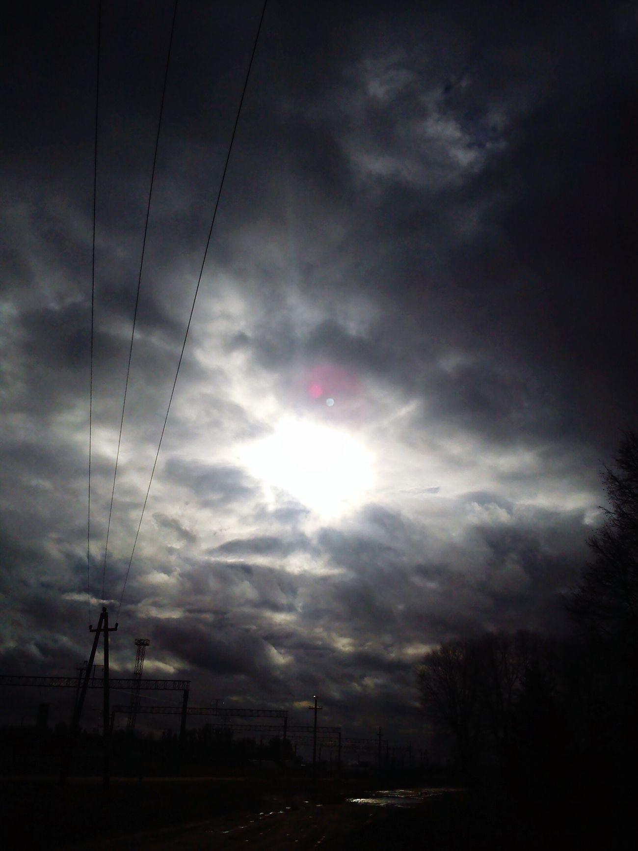 Sky Sun Spring Day