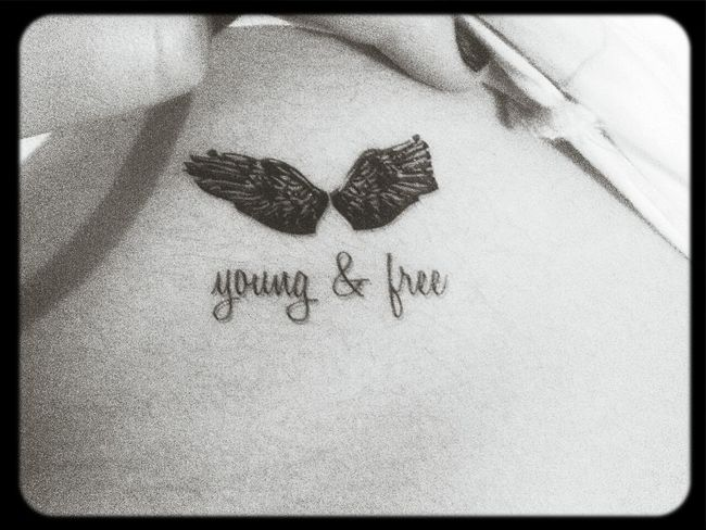 Young Wild And Free(; Forever Young Free Young&Free  tattos