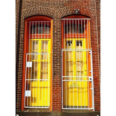 Yellow doors. #doorway #door #entrance #southphilly #instatagapp #grates #instagood #iphonesia #photooftheday #instamood #igers #instagramhub #picoftheday #instadaily #webstagram #instagramers #statigram #igaddict #iphoneartists #iphoneonly #jj_forum #ins Instagramhub Webstagram Door Instadaily Entrance Instatagapp WeAreJuxt Jj_forum Iphoneonly Igaddict Photooftheday Instagrammers Iphonesia Instaaddict Picoftheday Canvaspop Doorway Iphoneartists Instamood Mnolt Igers Southphilly Jj  Grates Instagramers Instagood Statigram