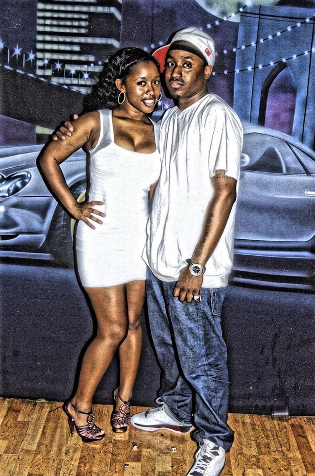 Throwback of Me & BAD GIRLS CLUB Catya posted up in the club at one of my shows BadGirlsClub Celebrity CertifiedGripStacker