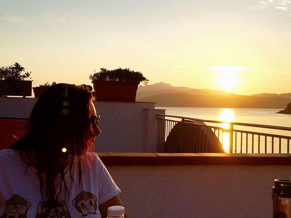Like a Sunset 😋💆🏻😘💋⚓️ Do you like? Sunset Seaside That's Me Enjoying The Sun