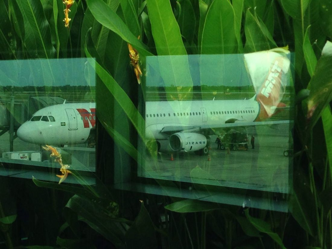 Airportheme planereflect