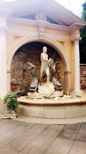 Statue Sculpture Human Representation Male Likeness Female Likeness Art And Craft History No People Outdoors Day Architecture Marble Built Structure Architectural Column Building Exterior Representing Disney World Disney DisneyMagic  Architecture