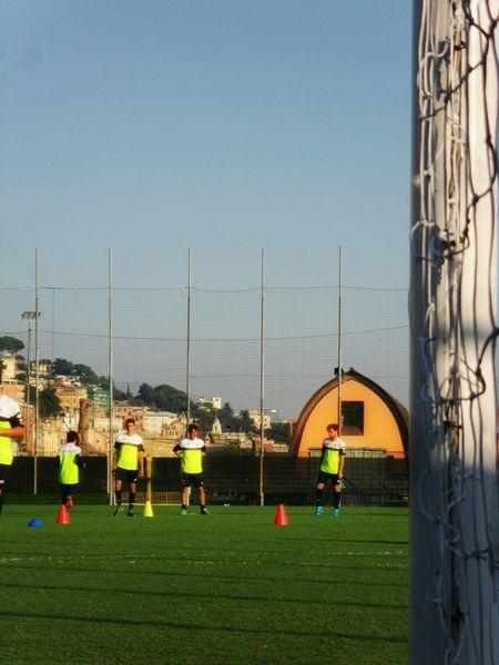 """Genoa CFC 1893 training, the youth team"". Football Fussball Soccer Calcio Training Allenamento Genoa CFC 1893 Italy 's oldest / Point And Shoot"