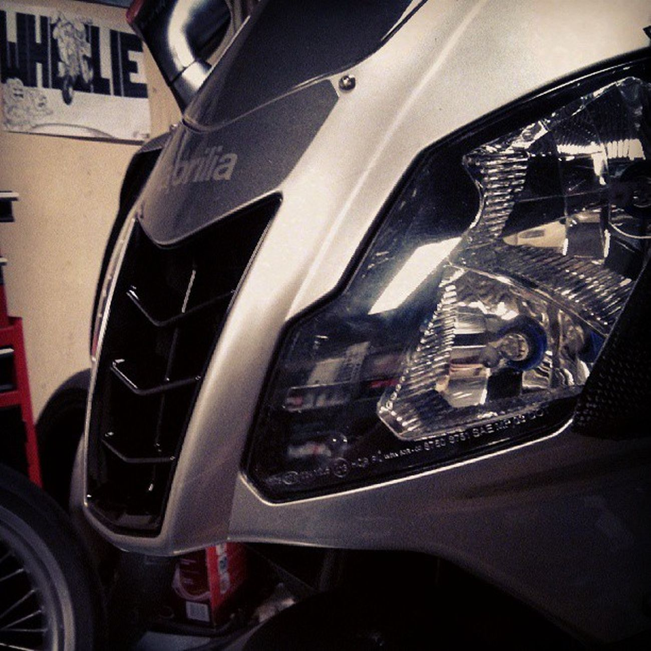 Rsvr Rsv Aprilia New nose carbon