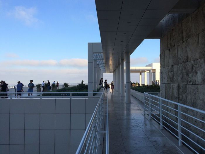 Architecture Gettycenter People