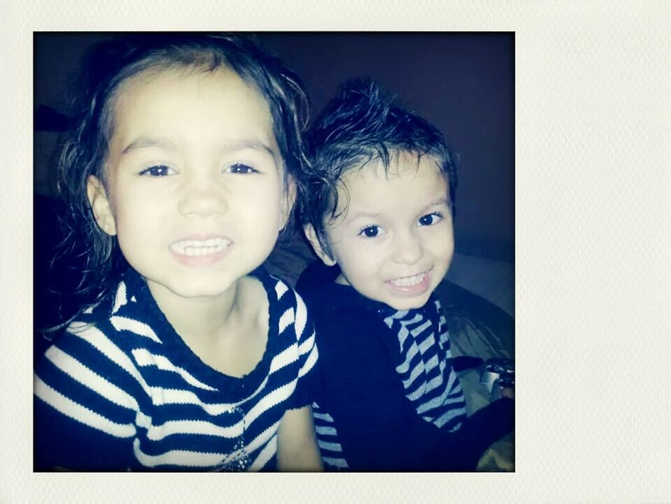 My babies!!! Look At My Twins... My Twins My Babies ❤  My Loves❤