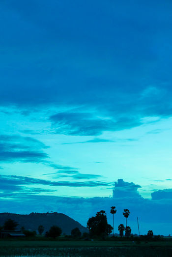 Beauty In Nature Close-up Cloud - Sky Day Landscape Nature Outdoors Phnom Krom Scenics Silhouette Sky Tranquil Scene Tranquility
