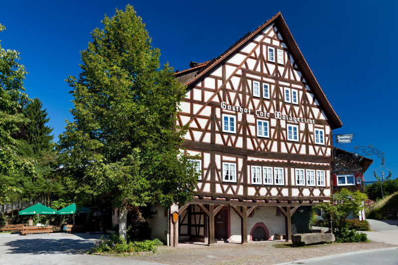 Gasthof Waldgericht 72280 Dornstetten Aach Alter Grüntäler Weg 5 Black Forest Culture Denkmal Denkmalschutz Holiday Hotel Restaurant Schwarzwald Traditional Truss Waldgericht