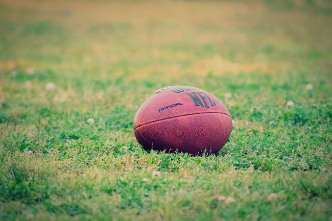 Patiently waiting for football season NFL NFL Football Football Season Sports Sports Photography No People Grass Taking Photos Enjoying Life Relaxing Football Nikonphotography Nikond3300
