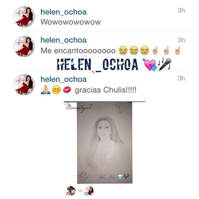 I'm glad that's @helen_ochoa liked the drawing 😘✌️🎤💘💯👩! Saludos @helen_ochoa ✌️💯 GladSheLiked @helen_ochoa ✒️📒 Puro Gerencia 3⃣6⃣0⃣ 🔵✌️💯 Bestday July21 2⃣0⃣1⃣5⃣🎤💯