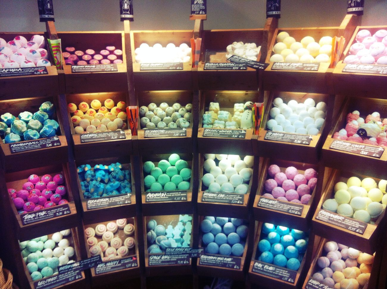 Checking in at Lush Checking In