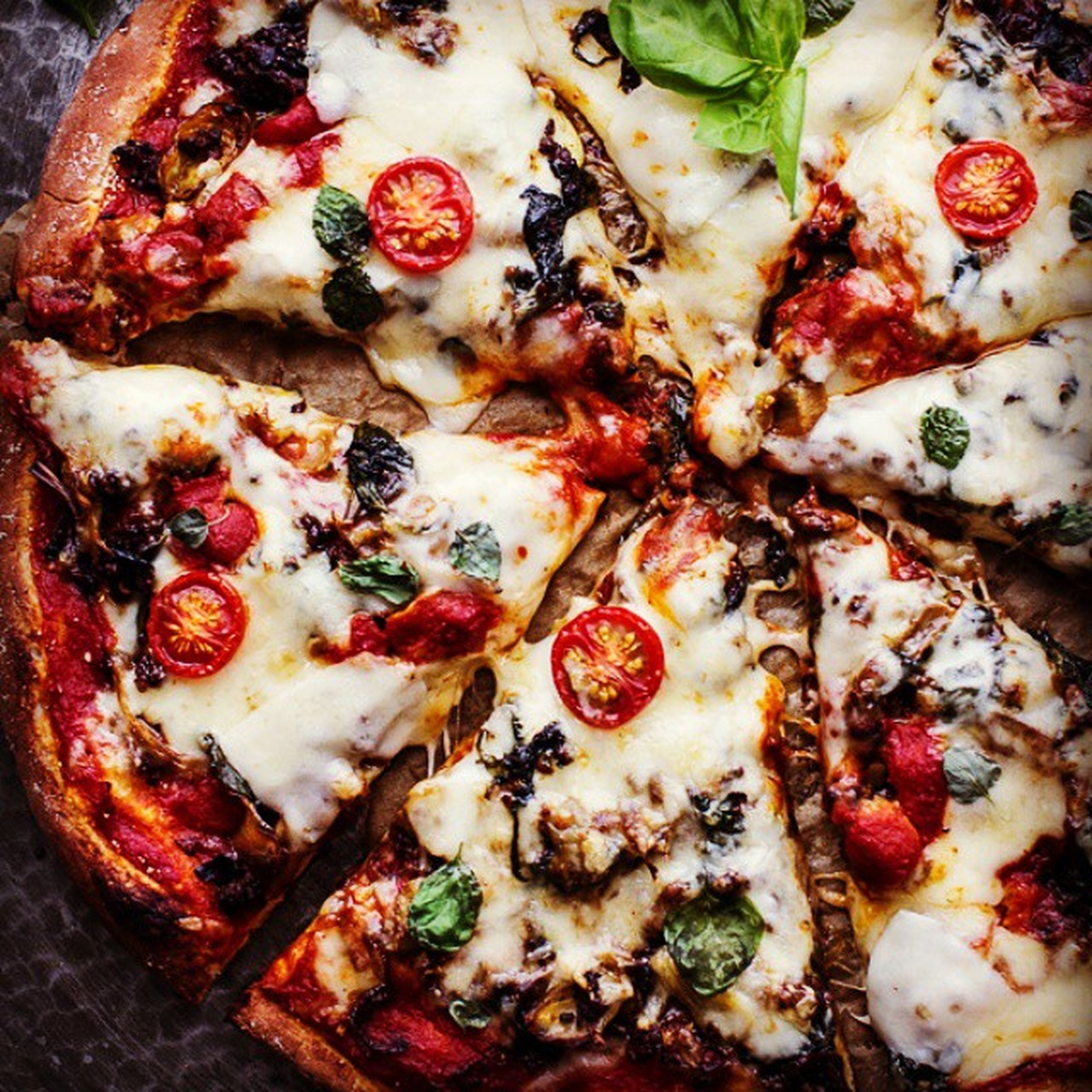 food and drink, food, freshness, ready-to-eat, indoors, still life, pizza, healthy eating, indulgence, close-up, serving size, temptation, full frame, high angle view, meal, meat, plate, slice, no people