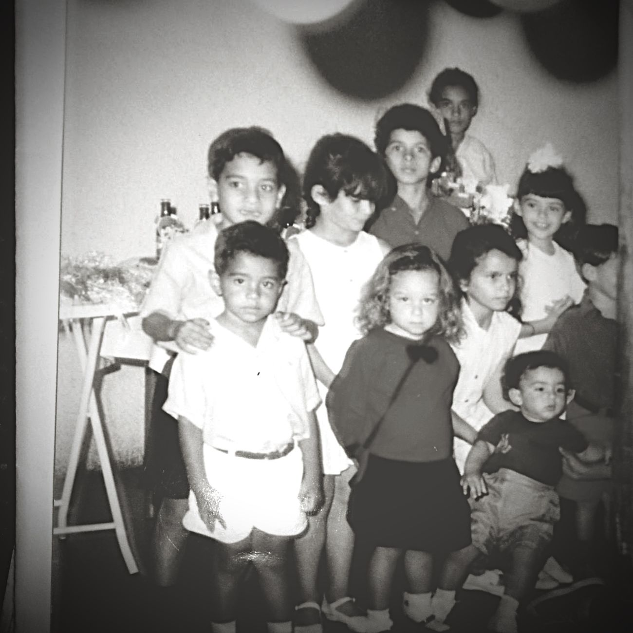Vazante Oldpicture Blackandwhite Birthday Party Childhood Memories Children 1989photobooth Oldfriends