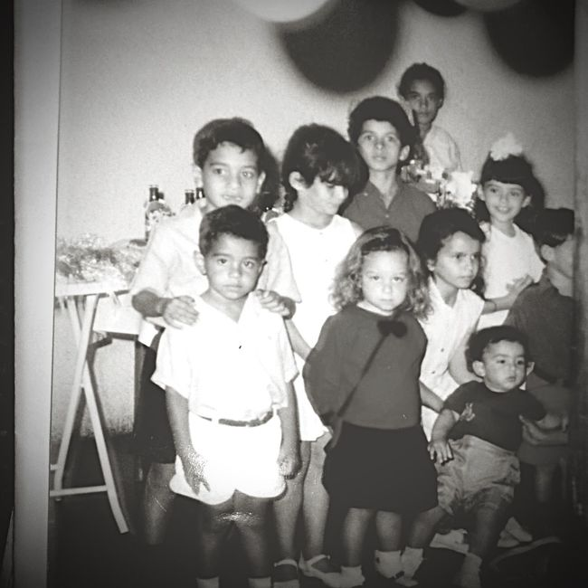 Vazante Oldpicture Blackandwhite Birthday Party Childhood Memories Children 1989photobooth Oldfriends