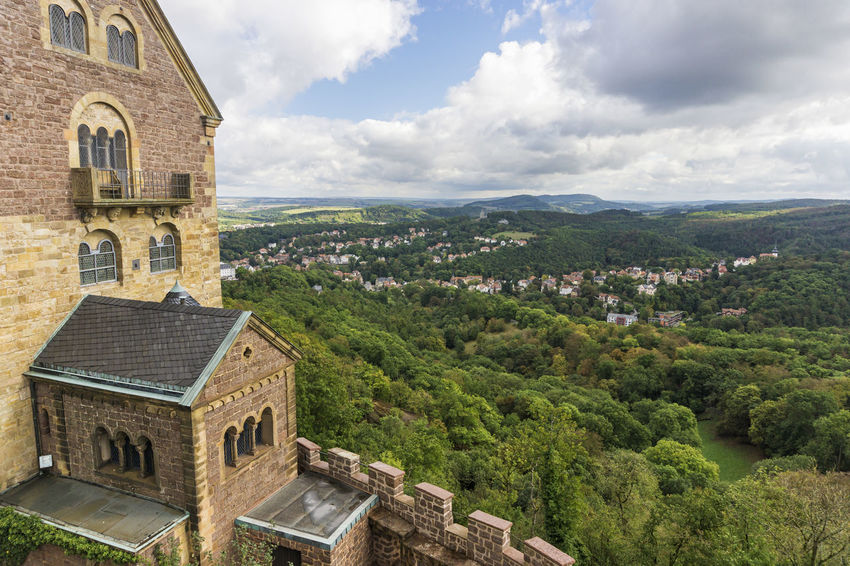 View from Wartburg Tower Architecture Building Exterior Built Structure Castle Eisenach History Luther Lutherstadt Martin Luther Medieval No People Outdoors Religion Travel Travel Destinations View Wartburg
