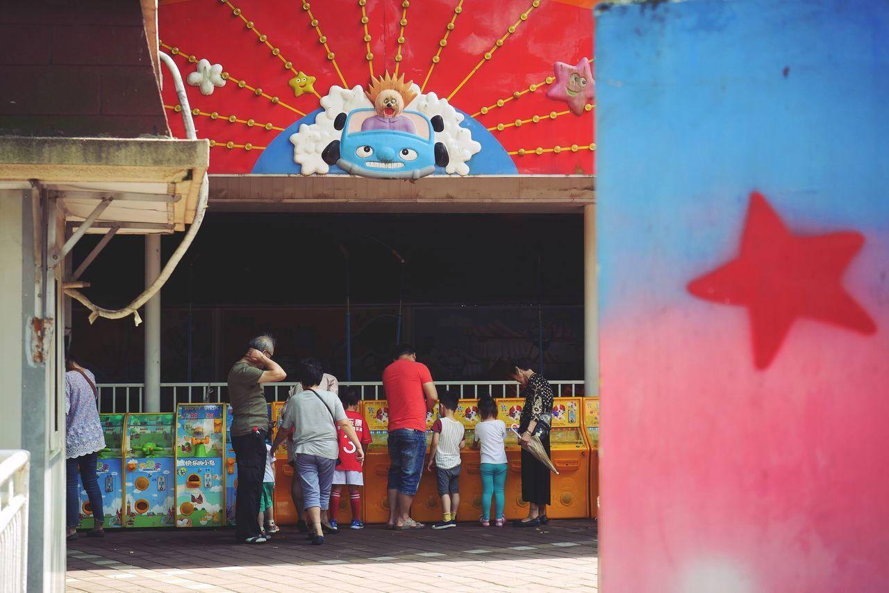 The Street Photographer - 2017 EyeEm Awards game Kursaal Pleasure Ground Amusement Park Outdoors