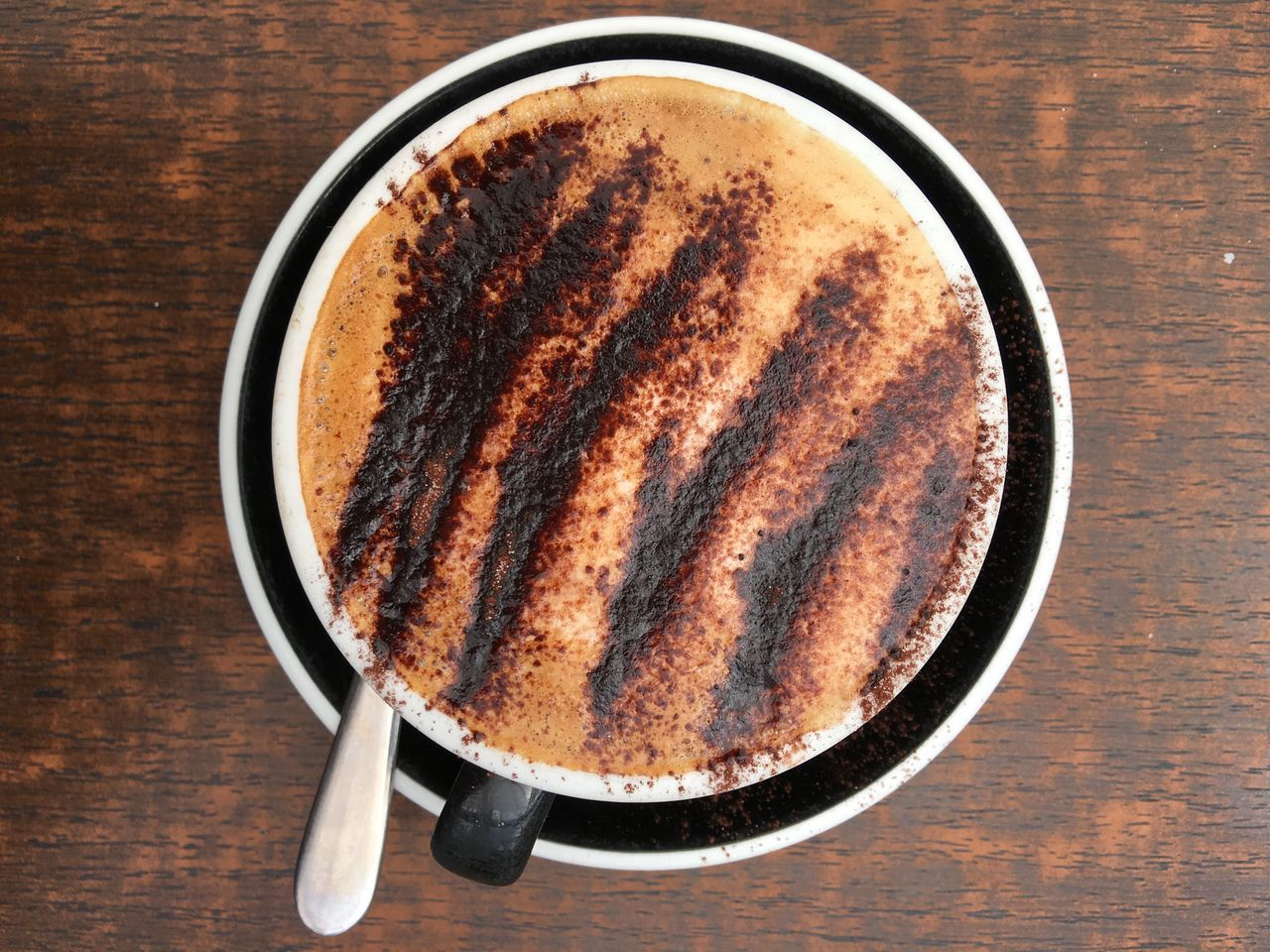 A great cappuccino with a good amount of chocolate Coffee Time Coffee Cappuccino Cappucino_lovers Best Coffee