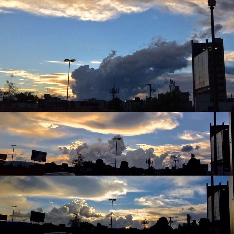 Sky Clouds And Sky Relaxing Sunset Final Fantasy