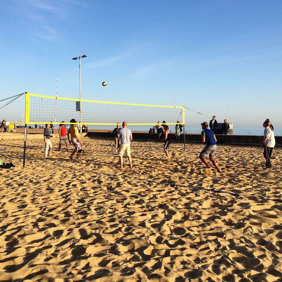 Beautiful stock photos of players, Beach, Beach Volleyball, Brighton, Day
