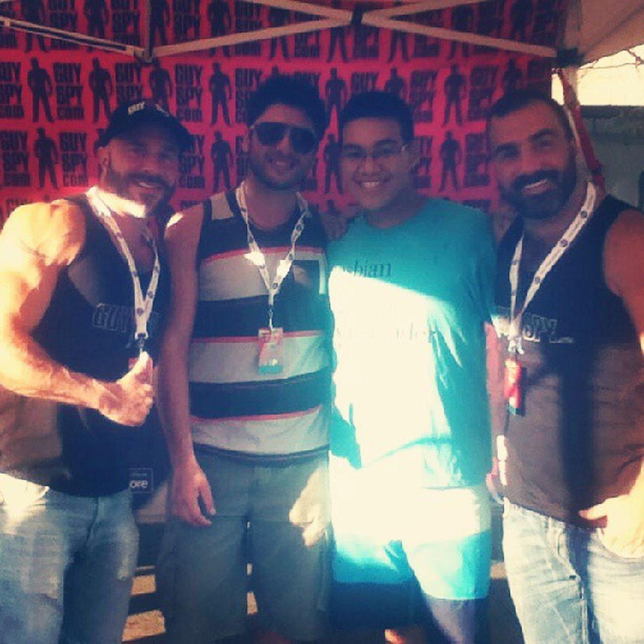 Avec la gang de GuySpy !! *.* Guyspypride Hotguys Montréal Pride fiertemtl fiertemtlpride fierte
