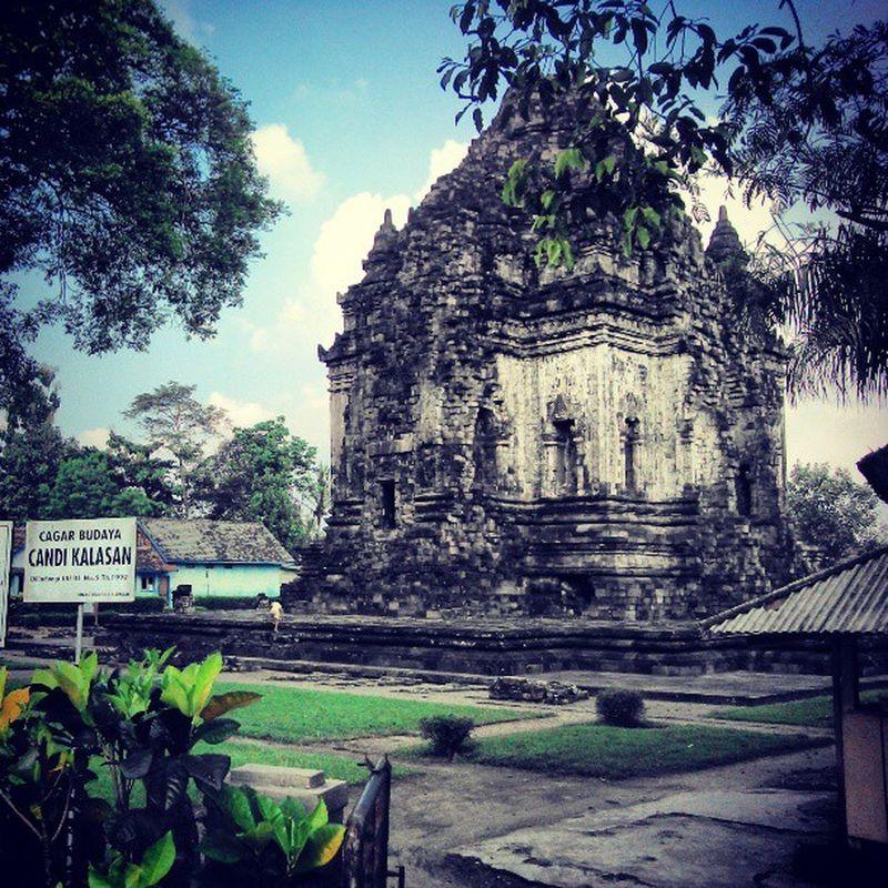 INDONESIA Yogyakarta Candi Kalasan Temple Buddhism Travel PhoneyTravel