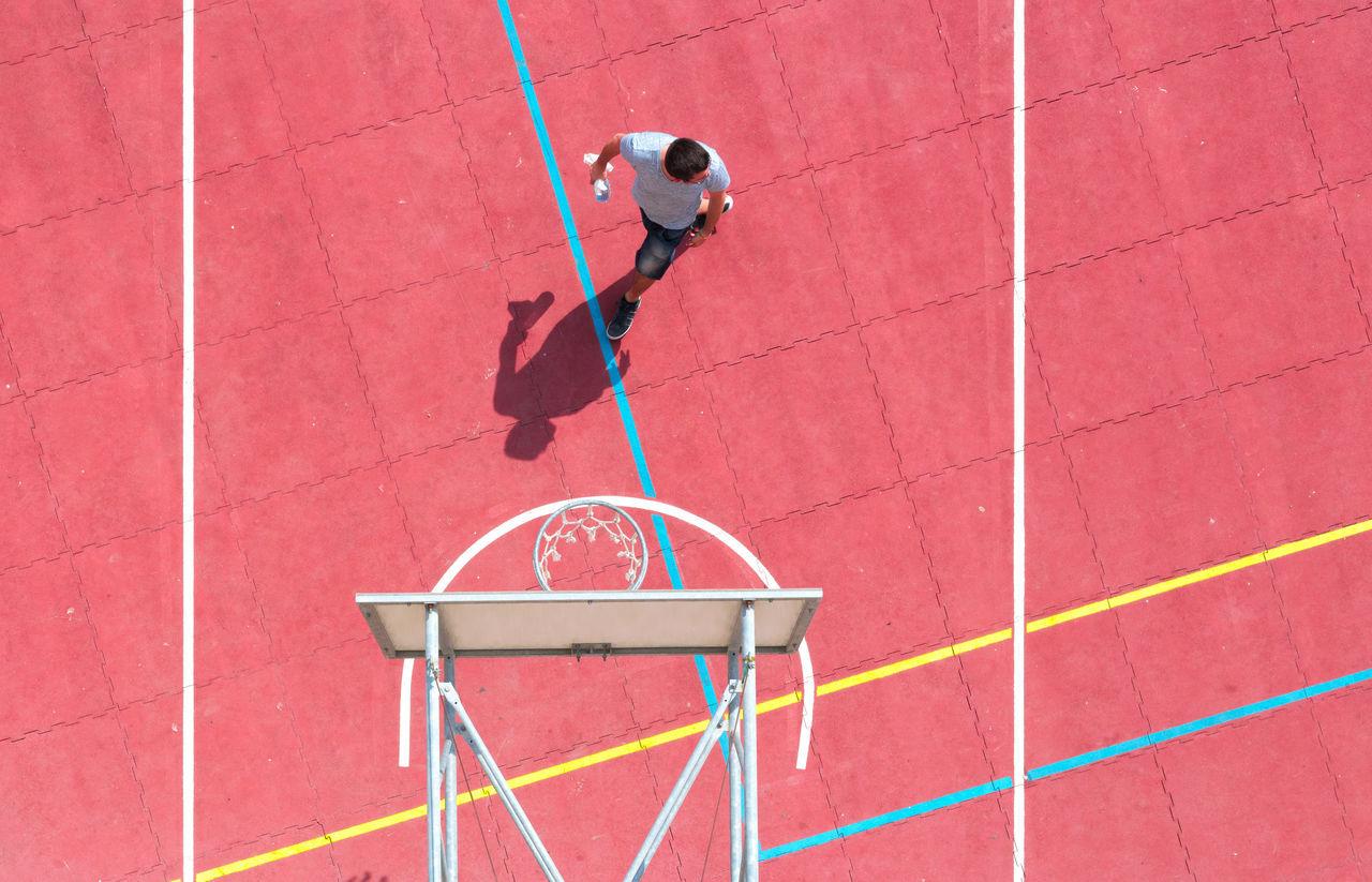 Beautiful stock photos of sport,  Basketball - Sport,  Basketball Hoop,  Building Exterior,  Casual Clothing