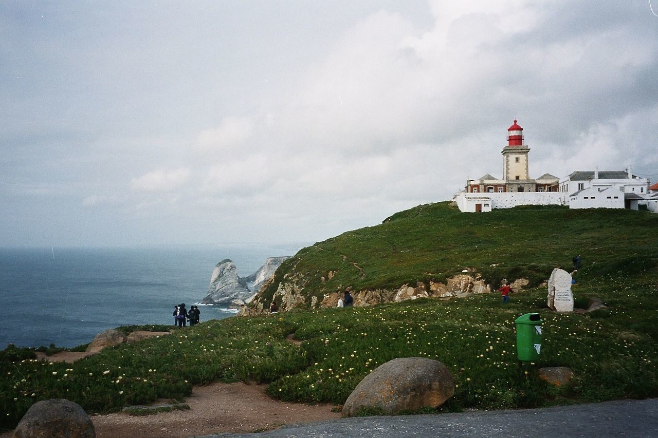 Architecture Atlantic Ocean Building Exterior Cabo Da Roca End Of Europe Lighthouse Nature Travel Destinations
