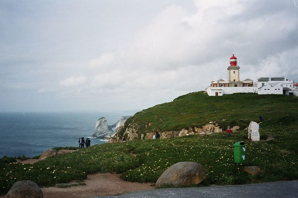 Architecture Atlantic Ocean Building Exterior Cabo Da Roca End Of Europe Lighthouse Nature Travel Destinations