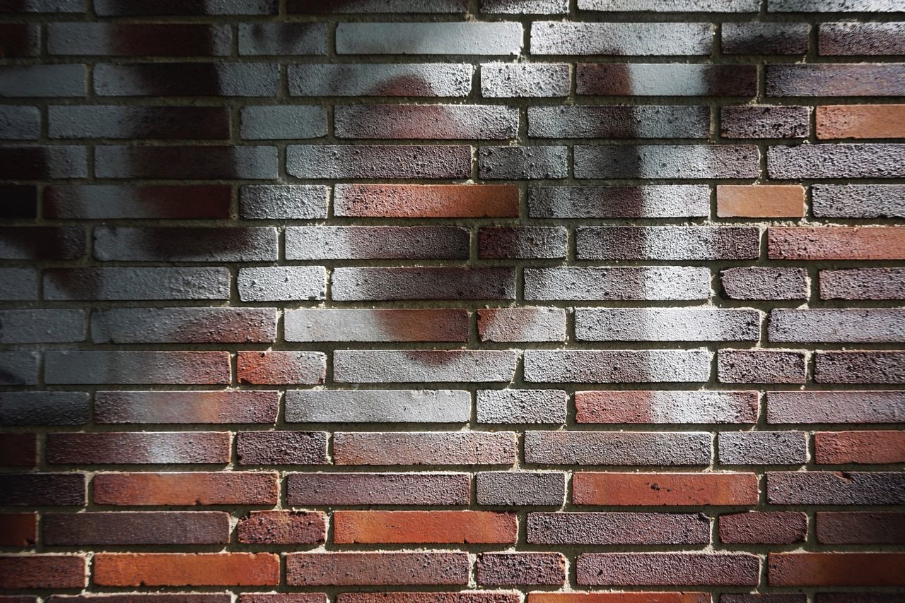 Brick Wall Brick Wall - Building Feature Full Frame Backgrounds No People Red Day Architecture Outdoors Close-up