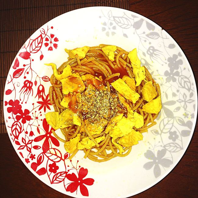Spagetti with chicken curry and oregano Chicken Curry Spagetti Italy❤️ Carbonfiber Currylife Oregano In Winter Foodporn Lunchtime! Mywiev