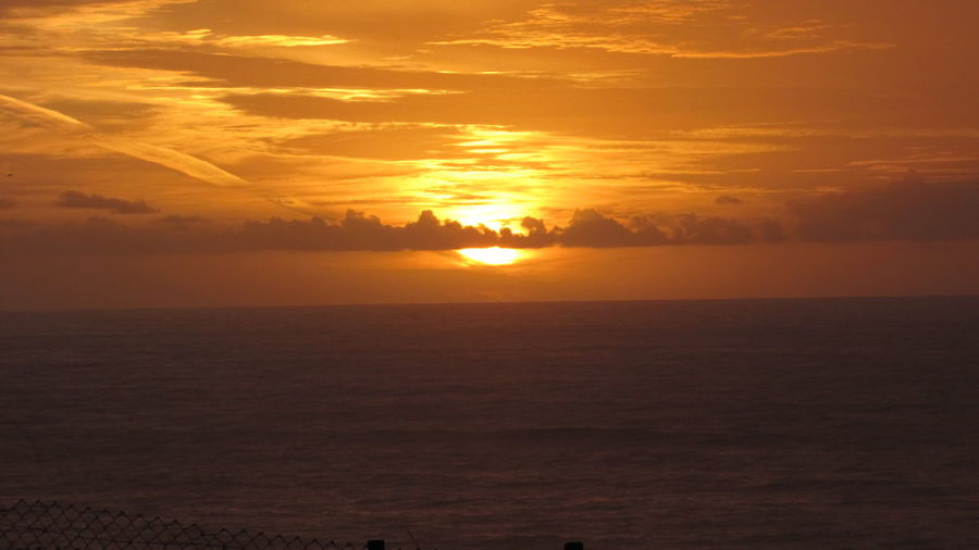 Tonight leave me alone Original Simple Photography EyeEm Best Shots Lovetheview Enjoying The View Nofilter Sunset Lastone Portugal Ericeira Beautiful Open Horizon Sunset_collection Sky_collection