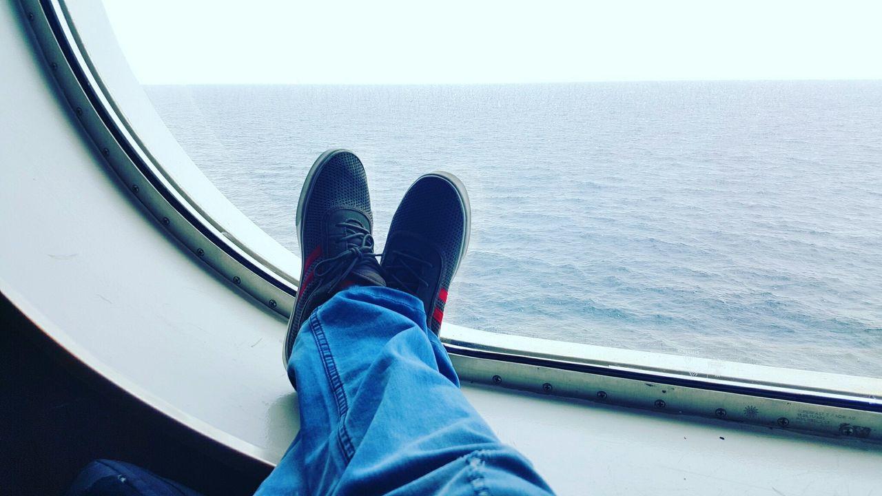 Wanderlust Wanderlust Wednesday Footwear Ferry Northernireland Scotland Sea Sea And Sky Sky And Clouds The Secret Spaces