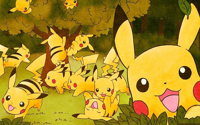 HD Dessin Draw Pokémon Pikachu Group