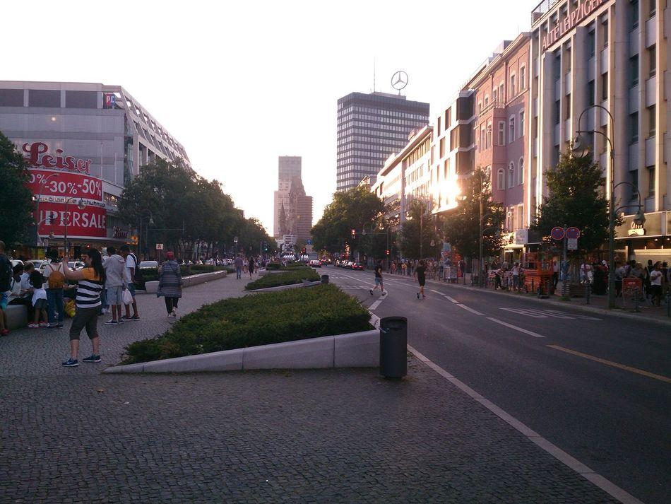 Una de las Avenidas más importantes de Berlin