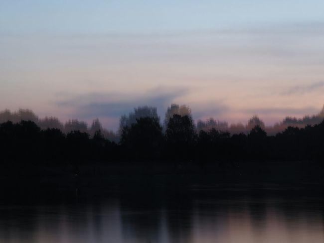 Germany Zeen Dunkelschwarz Experimental Lake Sunset Olympus Om-d E-m10 M.Zuiko 45mm 1:1,8