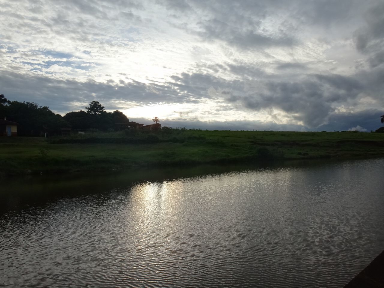 water, sky, river, nature, tranquility, no people, tranquil scene, landscape, cloud - sky, scenics, reflection, outdoors, beauty in nature, day, tree, architecture