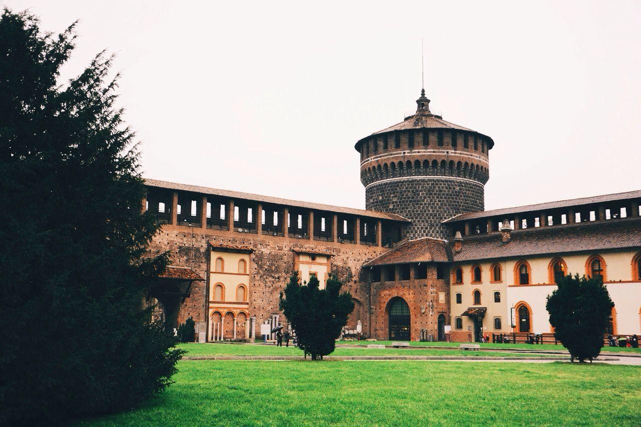 Beautiful stock photos of milan, Architecture, Building Exterior, Built Structure, Castle