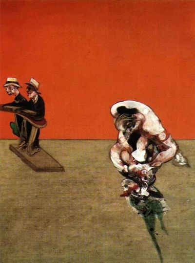 Francisbacon Crucifixion 1965