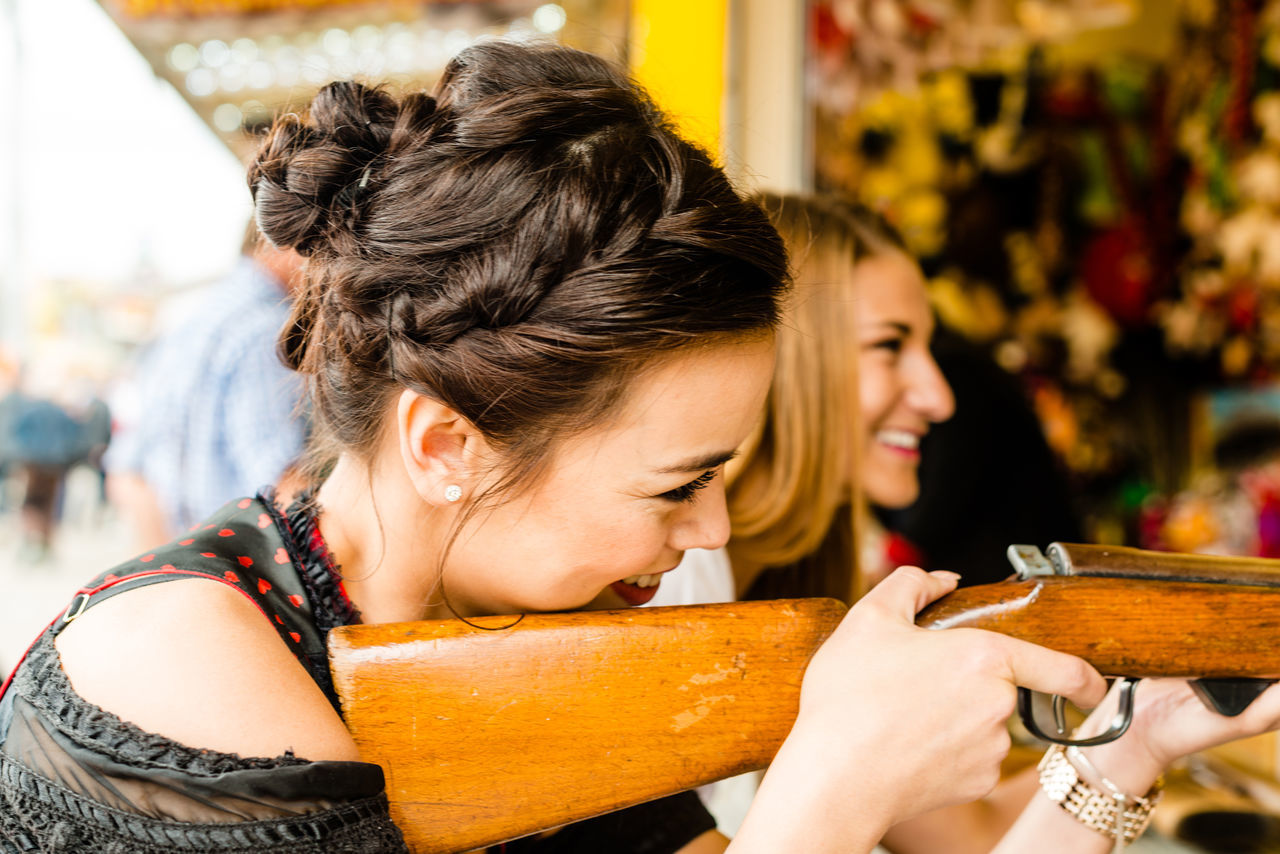 Beautiful stock photos of oktoberfest, 18-19 Years, 25-29 Years, Amusement Park, Arts Culture And Entertainment