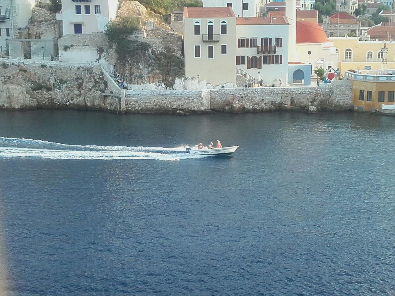 Kastellorizo Boats Boats Boats Taking Photos Speedboat Enjoying Life 450 Inhabitants Beautiful Island
