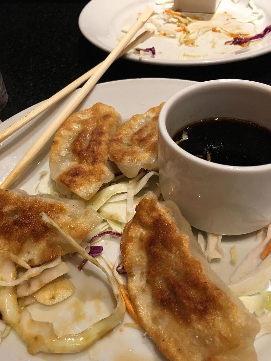 Korean Dumplings. Food And Drink Food Ready-to-eat Asian