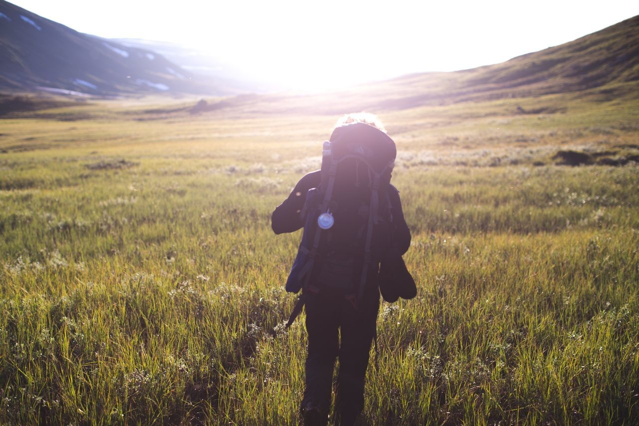 Beautiful stock photos of sweden, Adventure, Backpack, Day, Field