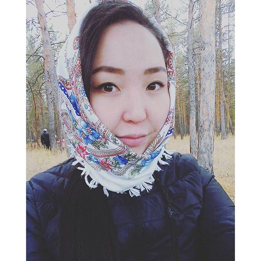 осень золотаяосень холодно ыччуу парккультурыиотдыха Якутск