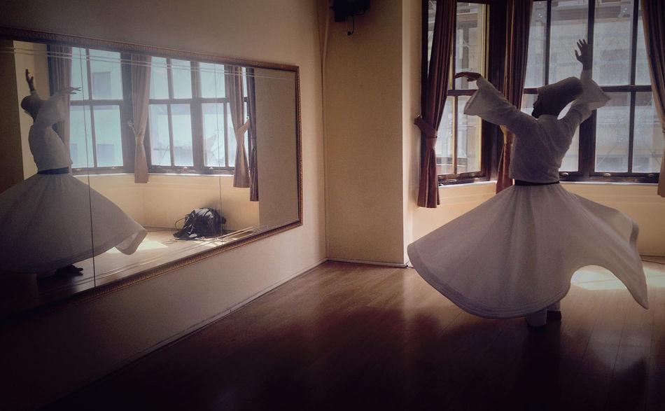 Derwish dancer Istanbul Derwish Dance Sufism