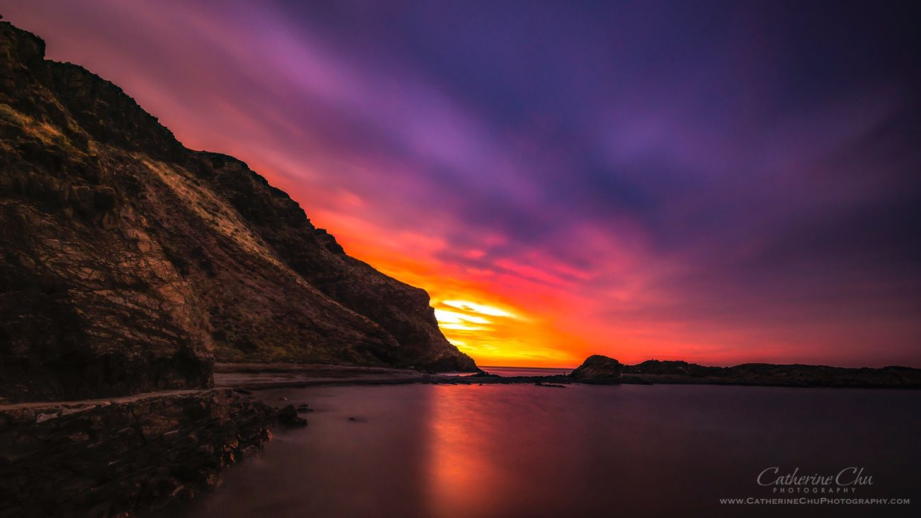 Miles Away Reflection Beauty In Nature Water Sunset Scenics Nature Lake Tranquil Scene Waterfront No People Tranquility Sky Outdoors Mountain EyeEm Gallery Long Exposure Horizon Over Water Rock - Object Surreal Fineartphotography