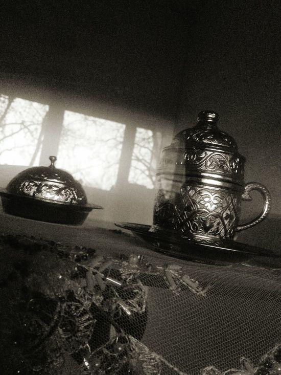 Vintage Turkishcoffee Mokka Blackandwhite Black & White Reflections Windows